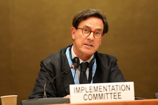 Attila Tanzi rieletto Presidente del Comitato di controllo dell'osservanza della Convenzione Acque di Helsinki