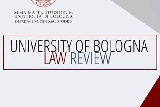 Call for associate editors on University of Bologna Law Review (UBLR)
