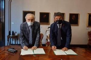 Ricerca di frontiera, sostenibilità, cultura: rinnovato l'accordo tra Alma Mater e Fondazione Carisbo